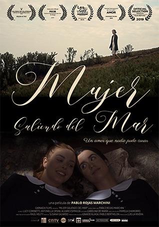 Mujer saliendo del Mar Low Budget Films Calella Film Festival